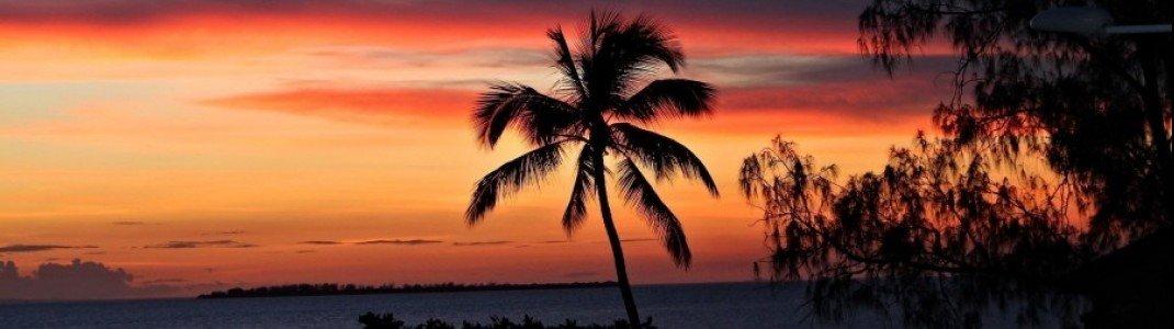Sonnenuntergang auf Zanzibar