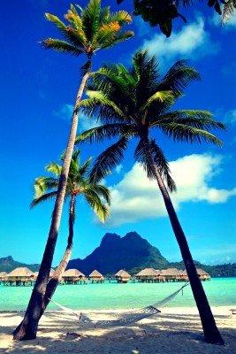 Traumstrände auf Bora Bora