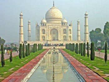 Das Taj Mahal - einer der größten Liebesbeweise