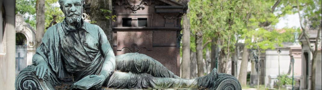 Mausoleum von Henri Leglise auf dem Friedhof Père Lachaise