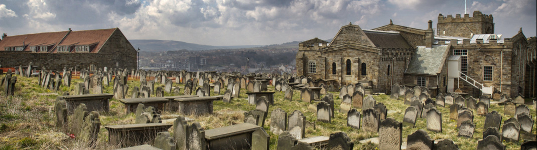 Gruseliger als der in Whitby kann ein Friedhof kaum sein...