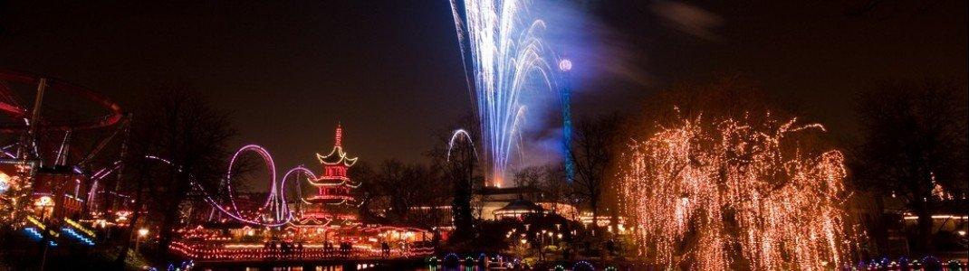 Feuerwerk Festival im Tivoli Vergnügungspark