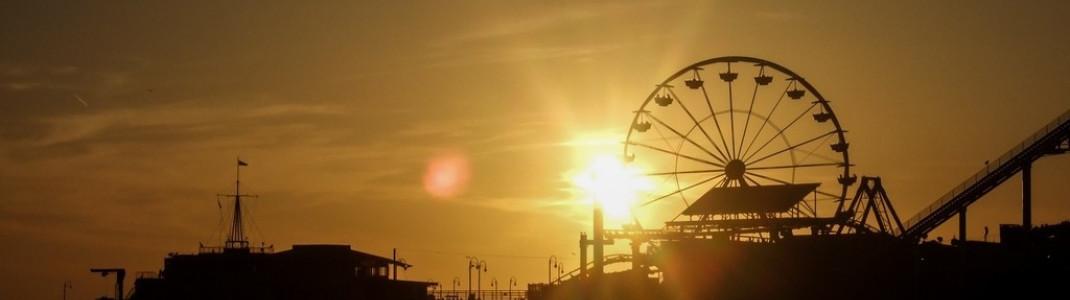 Das Santa Monica Pier in LA ist ein klassisches Postkartenmotiv