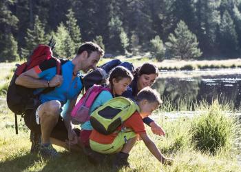 """Auf der """"3 Wege""""-Wanderung vereinen sich Natur, Kultur und Wasser."""