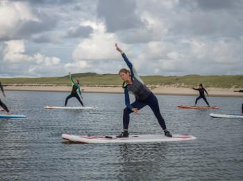 Am Strand von Spiekeroog werden zahlreiche Sportaktivitäten angeboten.