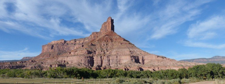 The impressive Palisade Rock