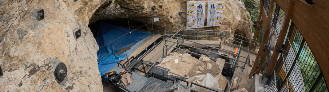 One of Europe's most important archaeological excavation sites, Grotta di Fumane, is located near Lake Garda.