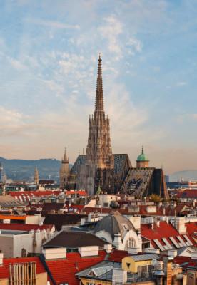 Der Stephansdom ist eines der Wahrzeichen Wiens.