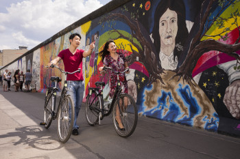 East Side Gallery is the largest open air gallery in the world, and an important piece of German and Berlin history.