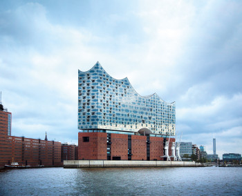 Elbphilharmonie is the youngest and arguably most imposing landmark of Hamburg.