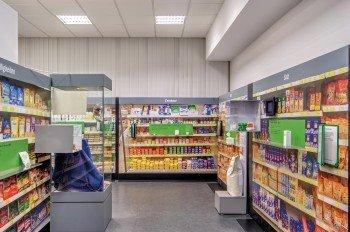 Eine Einkaufstour in einem Supermarkt machen die Besucher im Zusatzstoffmuseum.