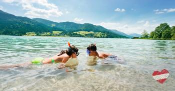 Zahlreiche Badeseen sorgen im Sommer für die nötige Abkühlung.