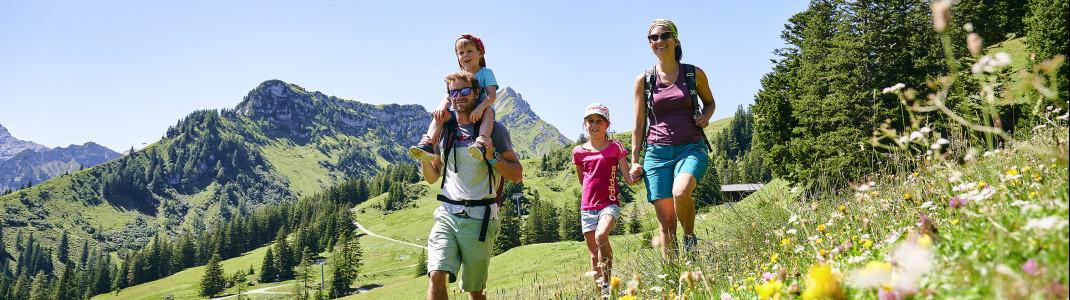Sommer mal vier: Eine Stadt und drei Täler zeigen den Bergsommer in all seinen Facetten