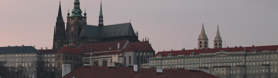 Prague Castle is one of the city's landmarks.