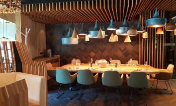 Geschmackserlebnisse warten auf die Hotelgäste im Restaurant Bibers und im Bistro Biberia.