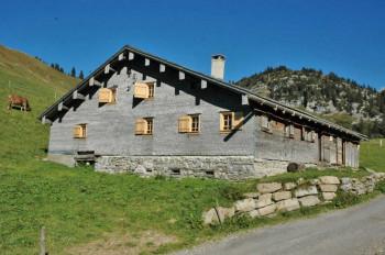 Seit 2002 begeistert das Alpmuseum in der alten Alpe Batzen die Besucher.