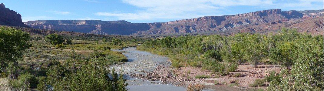 Der Dolores-Fluss bei Gateway
