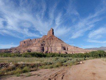 Der eindrucksvolle Palisade Rock