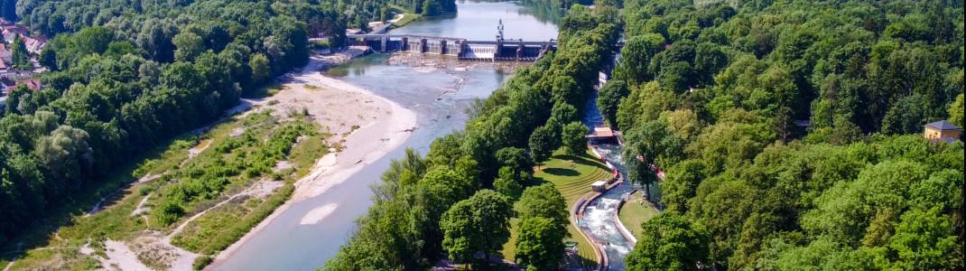 An mehr als 20 Stationen kannst du das Augsburger Wassermanagement-System entdecken.