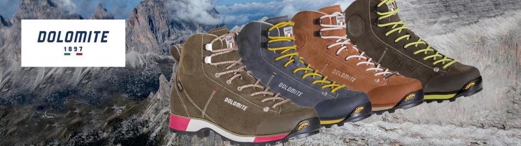 Gewinne einen hochwertigen Wanderschuh von Dolomite!