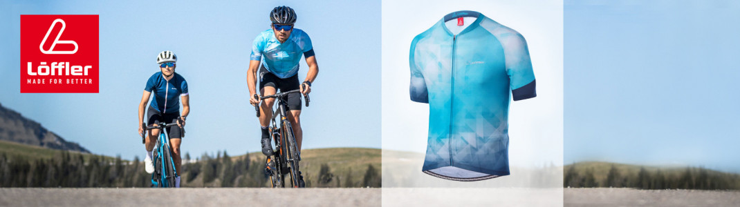 Gewinne das neue Bike Jersey Full Zip Aero für Herren!