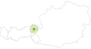 Radtour Rund um den Wilden Kaiser, Tour Nr. 8 Wilder Kaiser: Position auf der Karte