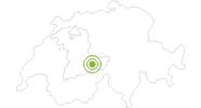 Radtour Grindelwald - Feld - Bussalp Loop in der Jungfrau Region: Position auf der Karte
