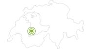 Radtour Seebergsee in Gstaad - Saanenland: Position auf der Karte