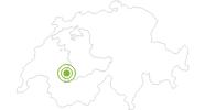 Webcam Gstaad Zentrum in Gstaad - Saanenland: Position auf der Karte