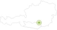 Radtour Sommerauer Tour im Lavanttal: Position auf der Karte