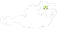 Radtour Von Krems nach Tulln in Donau Niederösterreich: Position auf der Karte