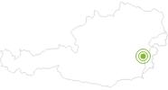 Radtour Lafnitztal-Radweg im Südburgenland: Position auf der Karte