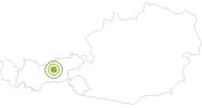 Radtour Radtour Hinterhornalm in der Region Hall - Wattens: Position auf der Karte
