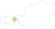 Radtour Tour Tulfeinalm in der Region Hall - Wattens: Position auf der Karte