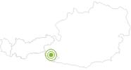 Radtour Durch das Zwenewaldtal zur Bloshütte in Osttirol: Position auf der Karte