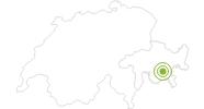 Radtour Corviglia Flowtrail in Engadin St. Moritz: Position auf der Karte