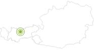 Radtour Mountainbiketour Seefeld - Mösern - Wildmoos - Seefeld in der Olympiaregion Seefeld: Position auf der Karte