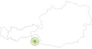Radtour Von Sillian zur Leckfeldalm in Osttirol: Position auf der Karte