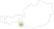 Radtour Fronstadler Alm in Osttirol: Position auf der Karte