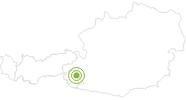Radtour Von Kals zum Lucknerhaus in Osttirol: Position auf der Karte