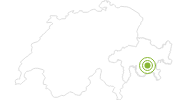 Radtour Piz Nair-Val Schlattain-Chantarella in Engadin St. Moritz: Position auf der Karte
