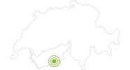 Radtour Rundtour von Täsch nach Randa in Zermatt: Position auf der Karte