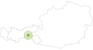 Radtour Von Finkenberg zum Schlegeisstausee im Zillertal: Position auf der Karte