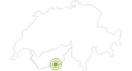 Radtour Vom Rothorn nach Zermatt in Zermatt: Position auf der Karte