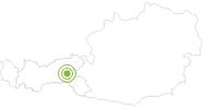 Radtour Schönachtal im Zillertal: Position auf der Karte