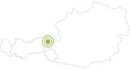 Radtour Brechhornhaus-Kreuzjöchlsee-Tour in den Kitzbühler Alpen - Brixental: Position auf der Karte