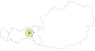 Radtour Zillertaler Höhenstraße im Zillertal: Position auf der Karte
