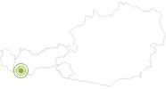 Radtour Familienradtour: Rund um den Reschensee im Tiroler Oberland: Position auf der Karte
