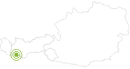 Radtour Plamortrunde im Tiroler Oberland: Position auf der Karte