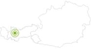 Radtour Pitztal Bike Route im Pitztal: Position auf der Karte